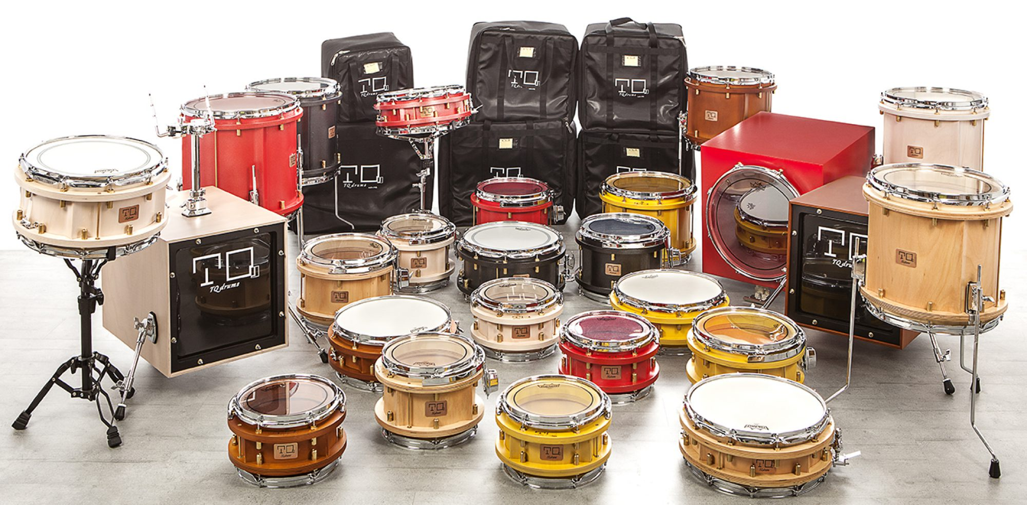 TestaQuadra drums